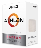 CPU AMD Ryzen Athlon 200GE 3.2 GHz / 5MB / 2 cores 4 threads / Radeon Vega 3 / socket AM4 / 35W